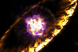 "Supernova or other destructive forces could also be the catalyst that triggers a new ""zero-point"" race for dominance."